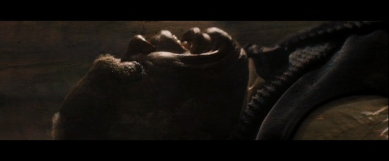 Der größte Bösewicht: Der alte Sklave.