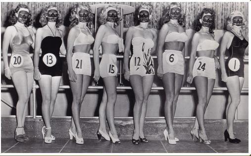 Schönheitswettbewerb: Beine; Kalifornien 1948