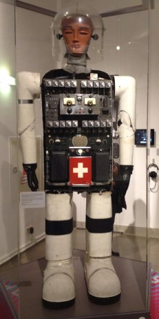 Anthropomorpher Roboter »Sabor V«von Peter Steuer, 1955. Technisches Museum Wien.